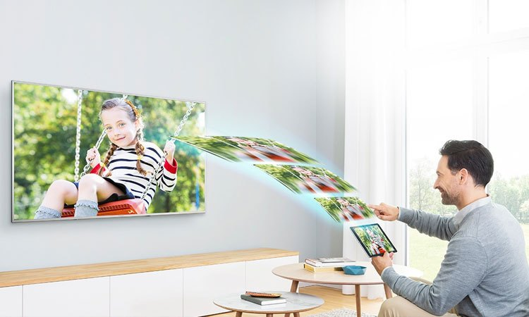 Chia sẻ và kết nối các thiết bị trên tivi một cách dễ dàng