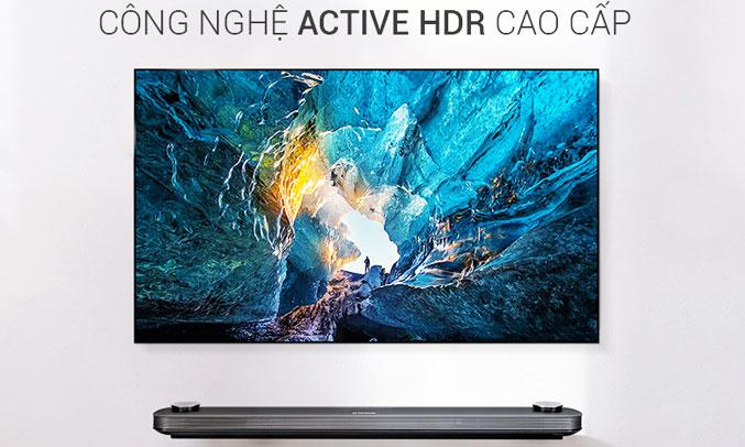 Tivi OLED LG 77 inch W7T truy cập nhanh chóng