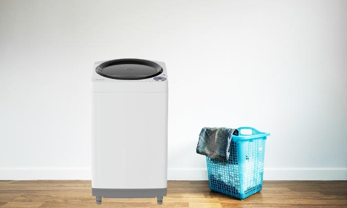 Máy giặt Sharp 7.8 kg ES-W78GV-G - Ngăn chứa bột giặt 3 trong 1 tiện lợi