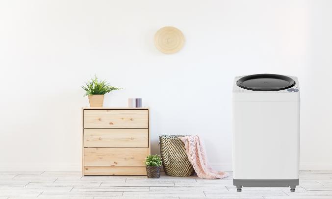 Máy giặt Sharp 7.8 kg ES-W78GV-G - Mâm giặt xoắn képScrew + Dolphin phủ bạc AG+