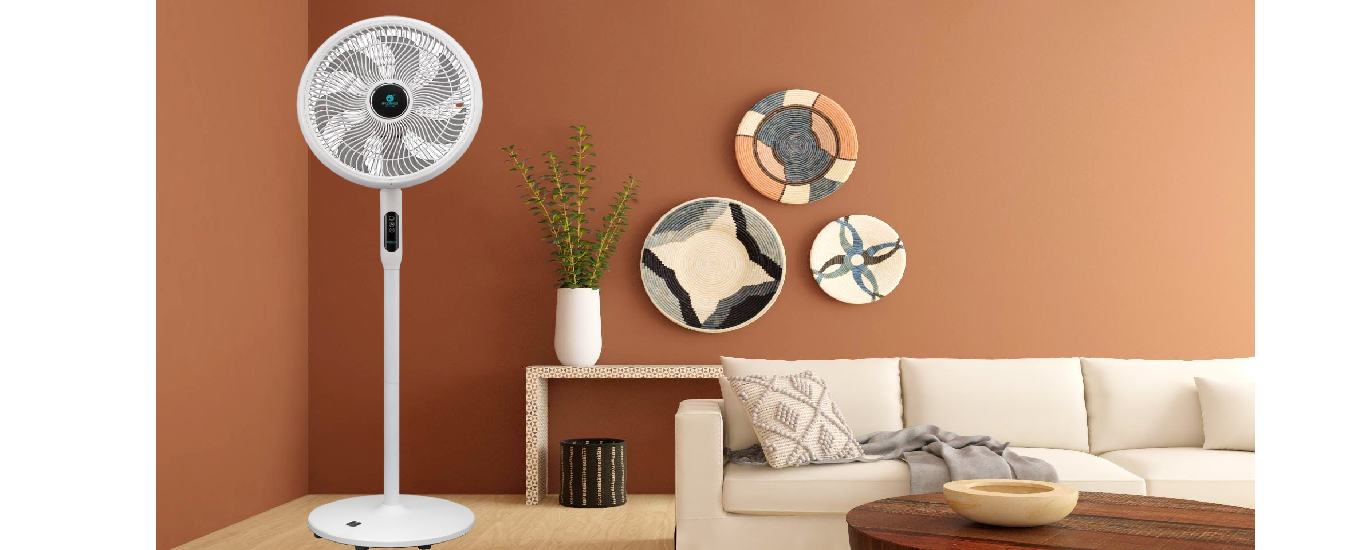 Quạt điện Hawonkoo FDH-012-SPEED24 - Thiết kế tối giản, sang trọng, nhỏ gọn phù hợp với mọi không gian nội thất