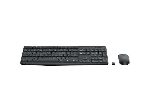 Bộ bàn phím và chuột Logitech MK235 giá khuyến mãi hấp dẫn tại nguyenkim.com