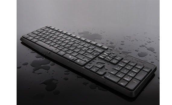 Bộ bàn phím và chuột Logitech MK235 chống tràn nước cao