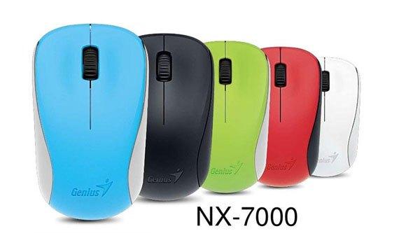 Chuột không dây Genius NX 700 màu đen hoạt động mượt mà