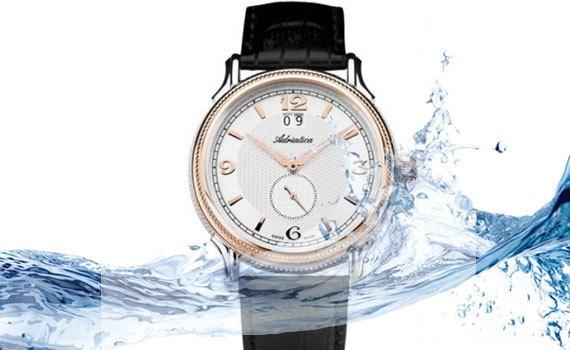 Đồng hồ Adriatica A1126.R253Q khả năng chịu nước tốt