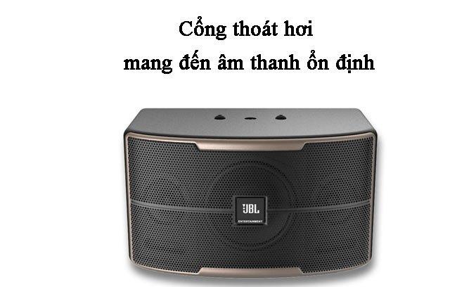 Loa Karaoke JBL Pasion 10-PAK Cổng thoát hơi mang đến âm thanh ổn định