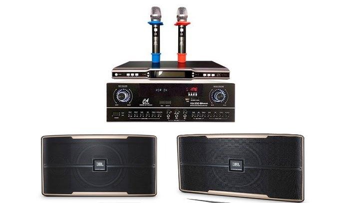 Loa Karaoke JBL Pasion 10-PAK Dễ dàng phối ghép với các thiết bị âm thanh khác