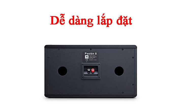Loa Karaoke JBL Pasion 10-PAK Dễ dàng lắp đặt