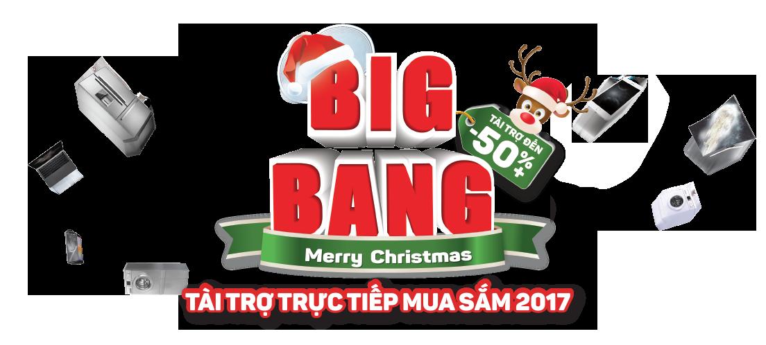 big bang tài trợ đến 50%
