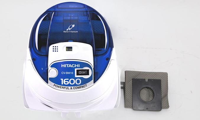Máy hút bụi Hitachi CV-BH18(24CV-BL) với túi đựng bụi dung tích lớn