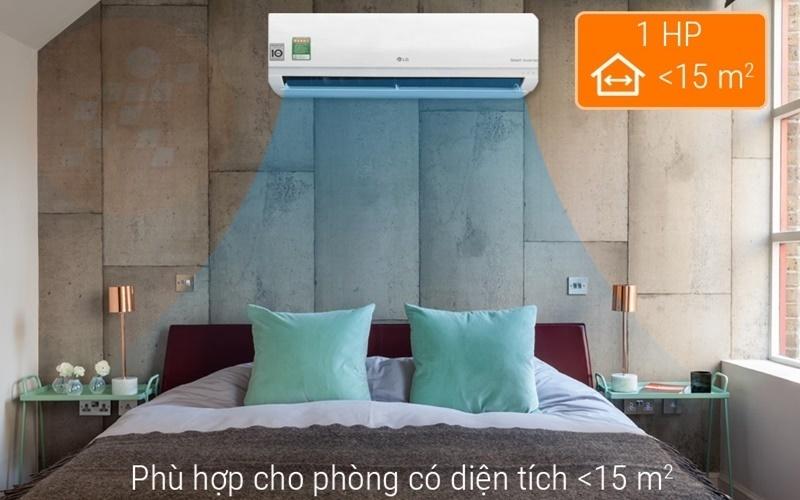 máy lạnh LG cho căn phòng diện tích dưới 15m2