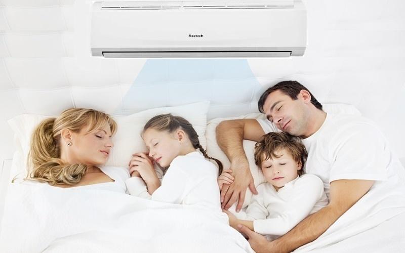 máy lạnh reetech cho giấc ngủ sâu