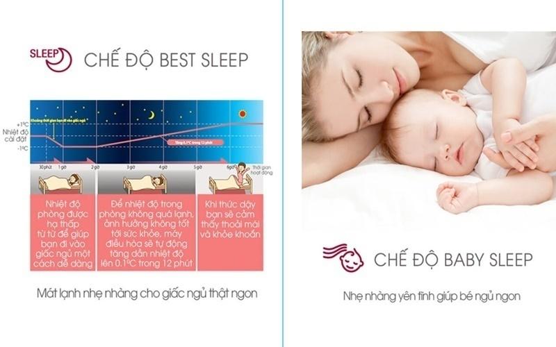 chế độ Baby Sleep dành cho em bé