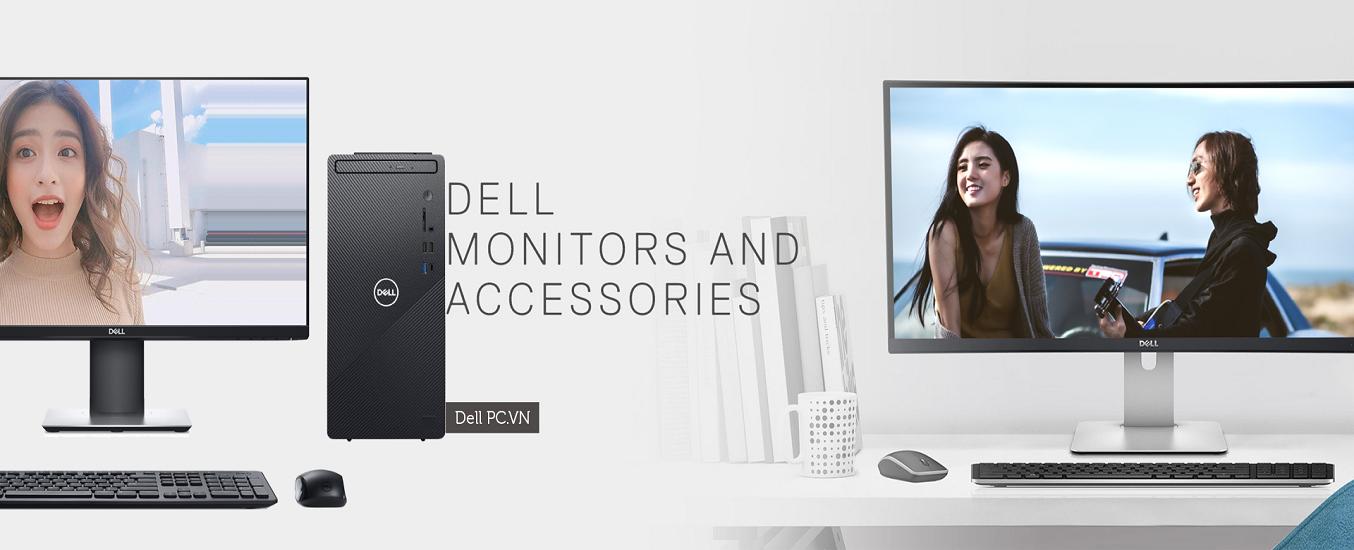 PC Dell Inspiron 3881 i5-10400/8GB/512GB MTI51210W-8G-512G - Thiết kế sang trọng, nhỏ gọn, không chiếm nhiều diện tích