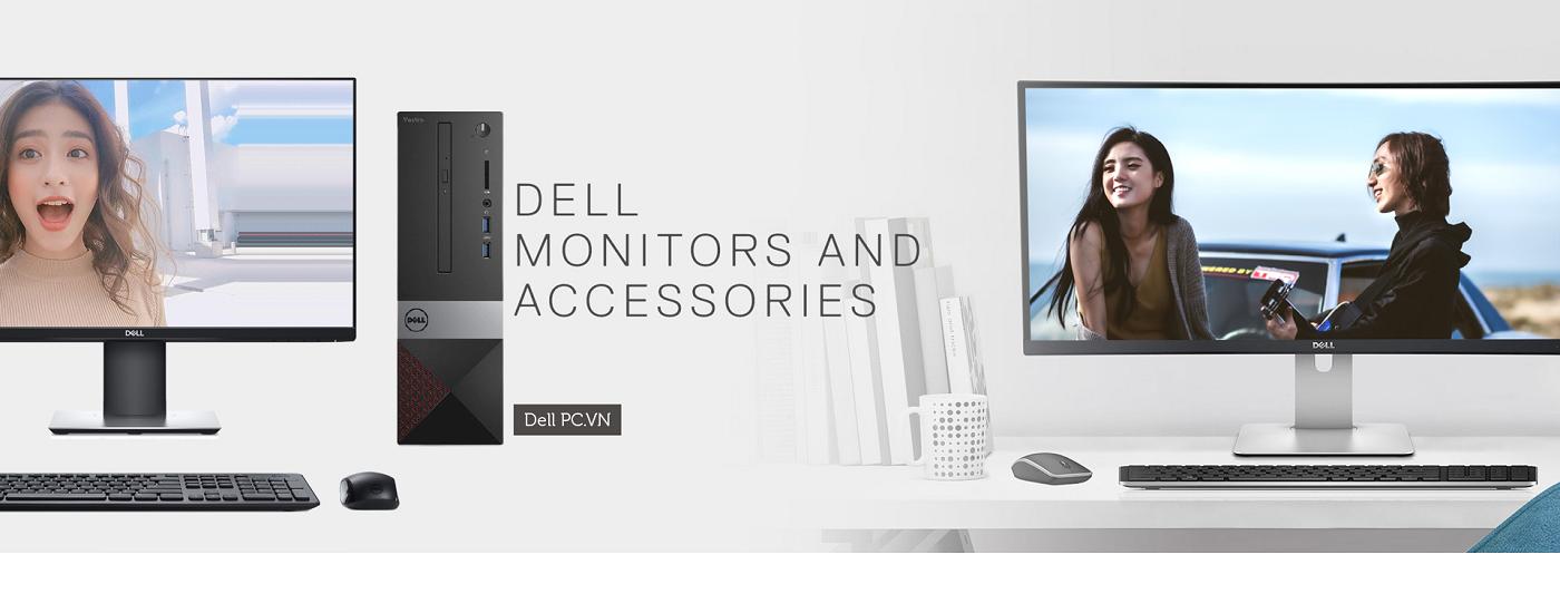 PC Dell Vostro 3681 i3-10100/4GB/1TB STI31501W-4G-1T - Thiết kế sang trọng, nhỏ gọn, không chiếm nhiều diện tích