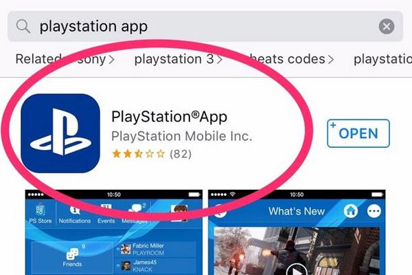 Bạn có thể tải về phần mềm PlayStation App trên kho ứng dụng iOS hoặc Android tùy vào hệ điều hành điện thoại bạn.