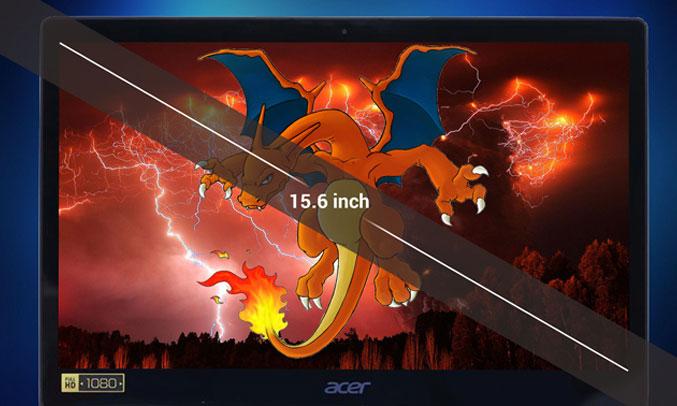 Laptop Acer Swift 3 ST315-51-530V(NX.GSKSV.001) màu sắc đẹp mắt