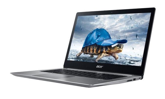 Laptop Acer Swift 3 SF315-51G-537U (NX.GSJSV.004) bảo mật vân tay