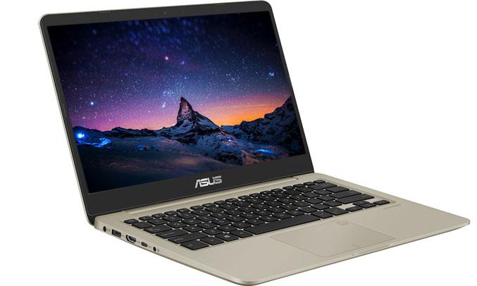 Laptop Asus Vivobook Max X411UA - BV360T bàn phím đánh máy êm