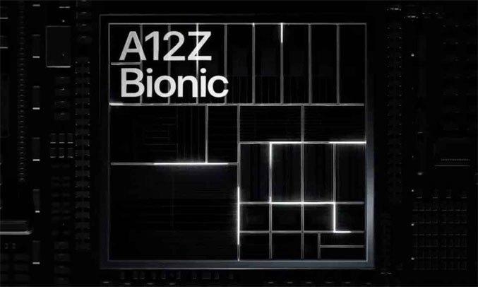 Máy tính bảng iPad Pro 12.9 inch Wifi 128GB MY2H2ZA/A Xám 2020 - Bộ vi xử lýA12Z Bionicmới nhất