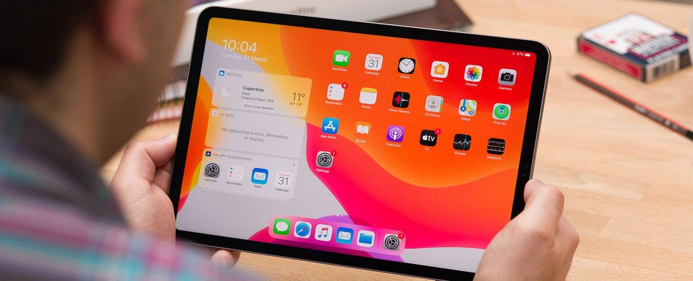 Máy tính bảng iPad Pro 12.9 inch Wifi 128GB MY2H2ZA/A Xám 2020 - Màn hình tràn viền, không nút home, tối đa không gian trải nghiệm
