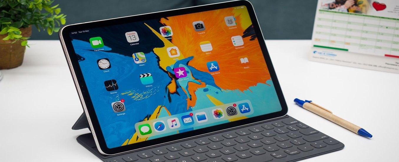 Máy tính bảng iPad Pro 12.9 inch Wifi 128GB MY2H2ZA/A Xám 2020 - Thiết kế ấn tượng, vuông vức, tinh tế đến từng chi tiết