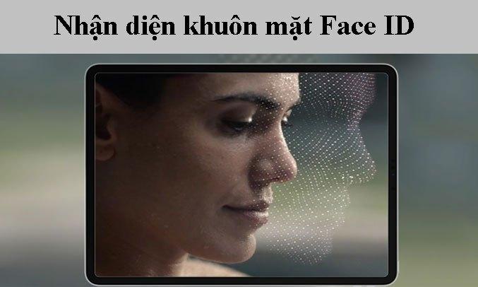 Máy tính bảng iPad Pro 12.9 inch Wifi 128GB MY2H2ZA/A Xám 2020 - Nhận diện khuôn mặt FaceID