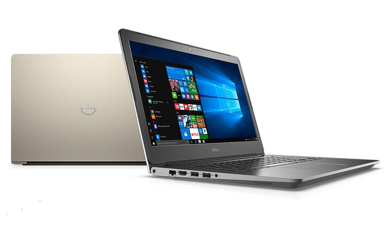 Laptop Dell Vostro V5468A - P75G001 thiết kế chắc chắn, sang trọng