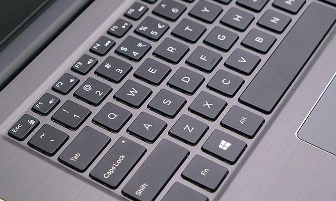Laptop Dell Vostro V5468A - P75G001 bàn phím thao tác chính xác