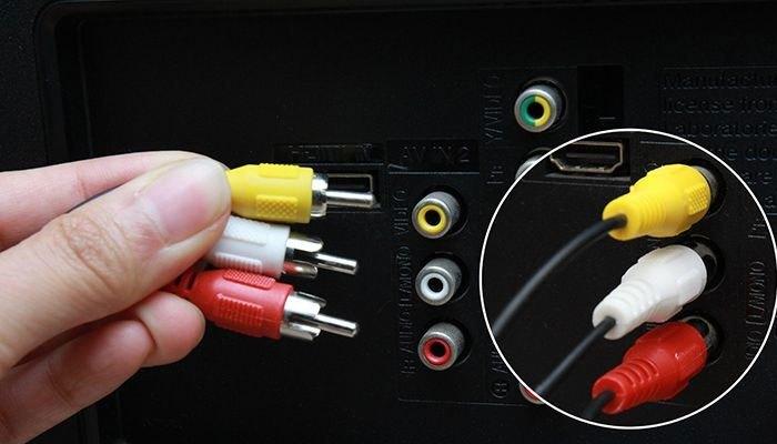 Mất hình khi đầu đĩa kết nối tivi