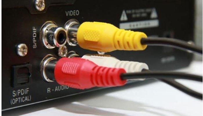 Mất hình và âm thanh khi đầu đĩa kết nối tivi