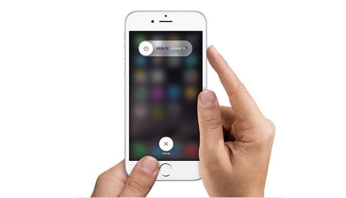 Tắt nguồn điện thoại iPhone mỗi tuần 1 lần