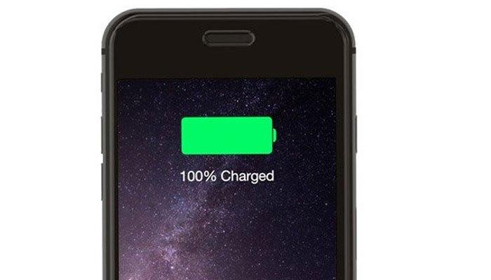 Không cần phải sạc đến 100% cho điện thoại iPhone