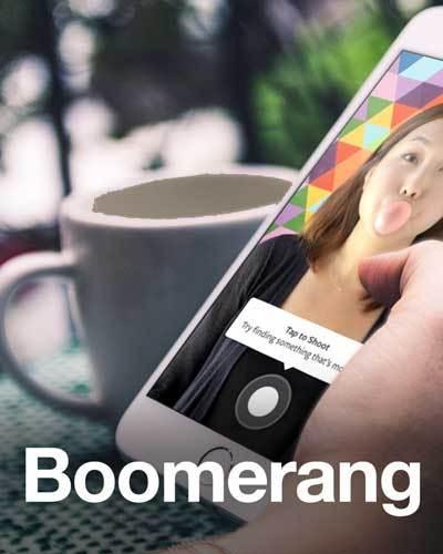"""Mê """"sống ảo"""" trên Facebook, chắc hẳn bạn không thể không viết ứng dụng quay ảnh động Boomerang của điện thoại đúng không nào?"""