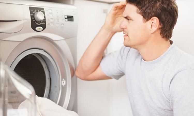Máy giặt không bật được nguồn