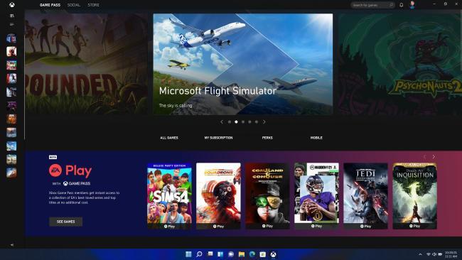 Trò chơi và công nghệ mới Windows 11