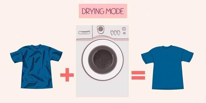 Máy giặt làm thẳng quần áo thay bàn là