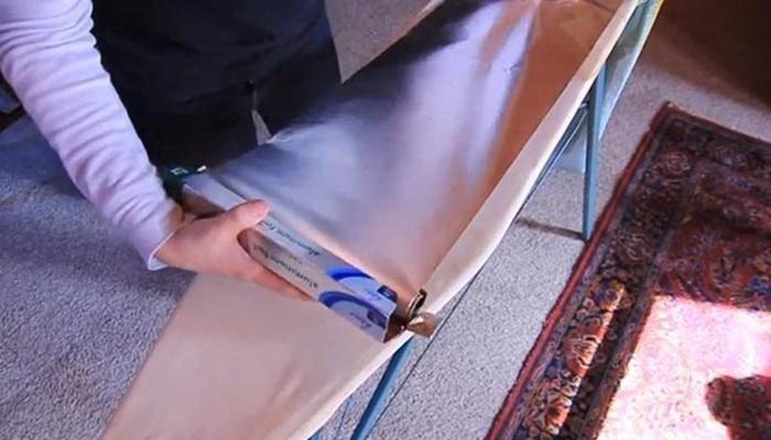 Giấy bạc sẽ làm tăng nhiệt độ bàn ủi