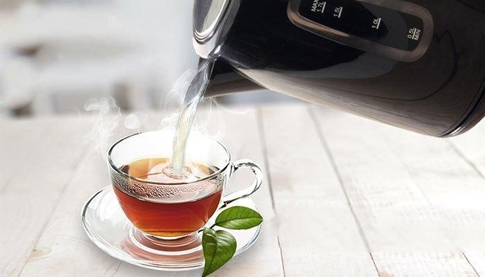Hãy chừa lại 20ml nước trong ấm để tránh bị hư mâm nhiệt của bình siêu tốc