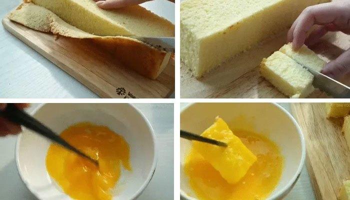 Vào bếp làm bánh bông lan mật ong