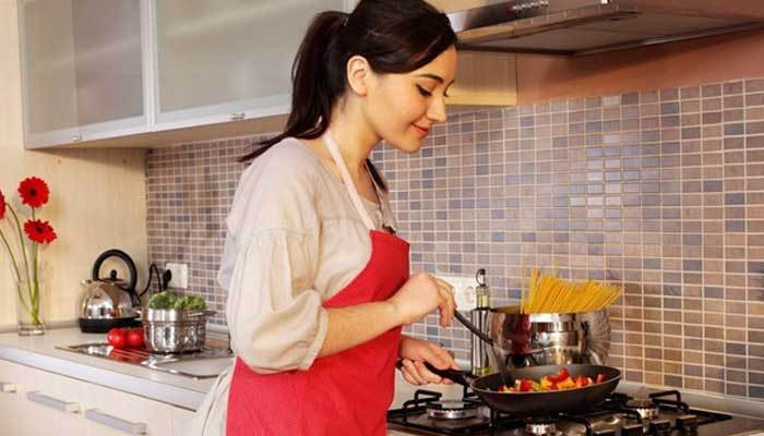 Chuẩn bị sẵn tất cả ở khâu chế biến để tập trung hơn khi nấu ăn trên bếp gas