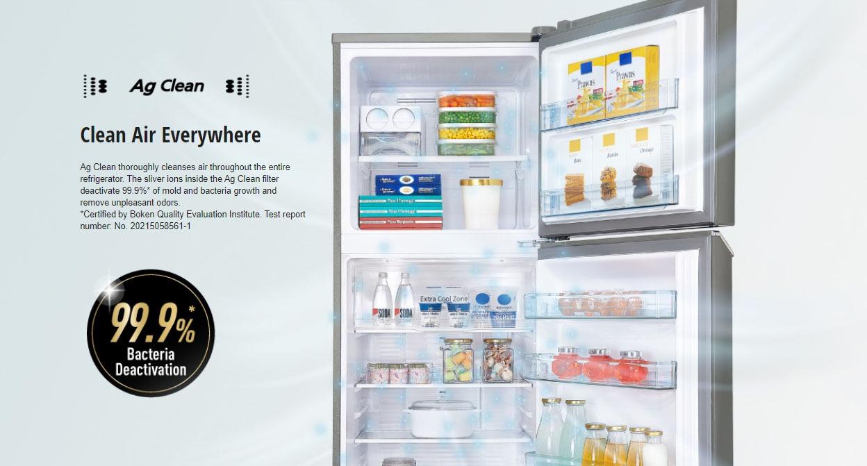 Công nghệ kháng khuẩn, khử mùi trên tủ lạnh Panasonic