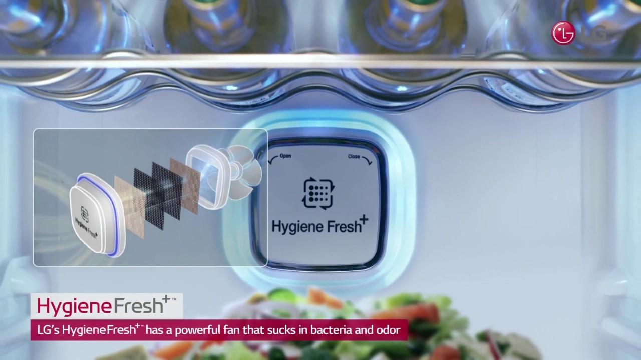 Công nghệ kháng khuẩn khử mùi trên tủ lạnh LG
