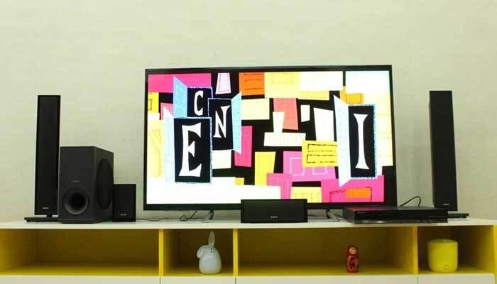 Kiểm tra kết nối dàn máy Sony với tivi