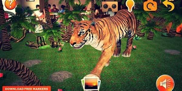 Khám phá khu rừng với kính thực tế ảo bằng ứng dụng Magical Nature