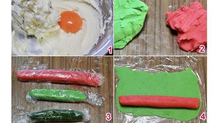 Biến bánh quy thành dưa hấu bằng lò nướng