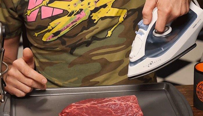 Bàn ủi nướng thịt