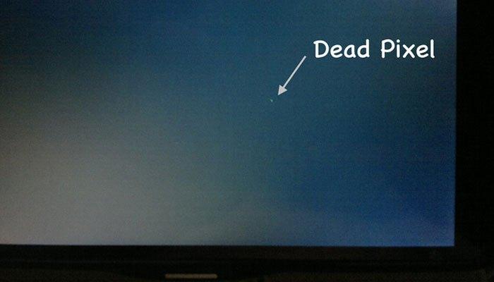Kiểm tra kỹ điểm chết trên màn hình vi tính
