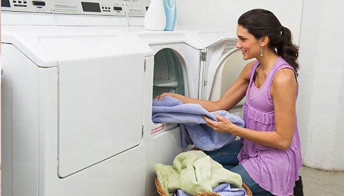 Kiểm tra sau khi dùng máy giặt