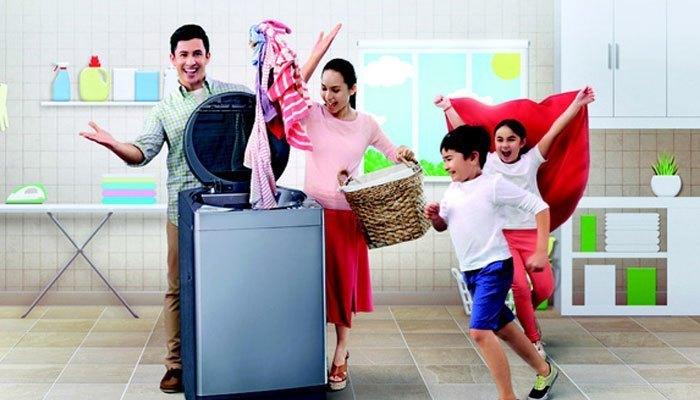 Chọn loại vải ít nhăn khi giặt bằng máy giặt